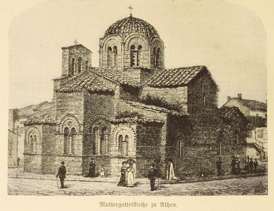 Illustration Muttergotteskirche zu Athen