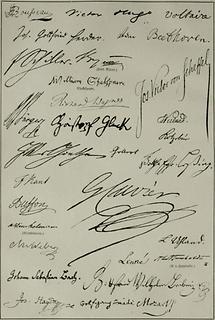 Autographen (Tafel II)