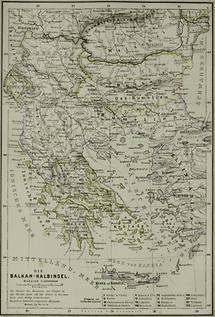 Die Balkan-Halbinsel