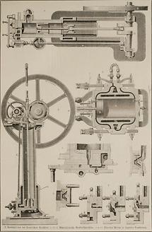 Gaskraftmaschine (Tafel I)