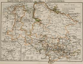 Hannover, Oldenburg & Braunschweig