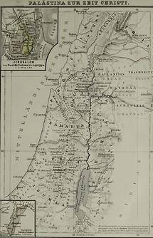 Palästina zur Zeit Christi