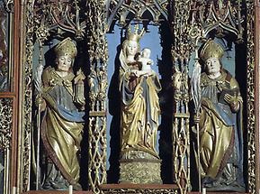 Gotisches Triptychon