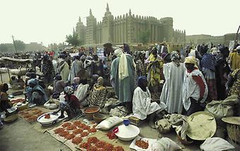 Mali Montagsmarkt