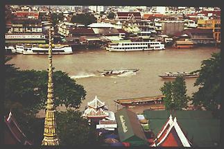 Bangkok Langschwanzboot