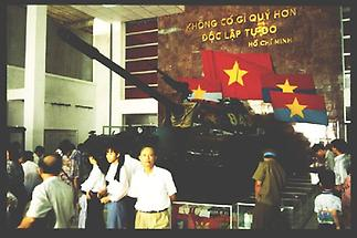 Hanoi Berühmtester Panzer der Nordvietnamesen