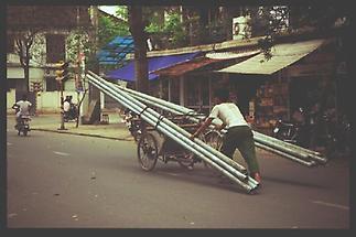 Hanoi Schwertransport 1
