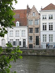 Brügge - Häuser im Zentrum