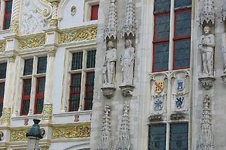 Bruegge Rathaus Detail