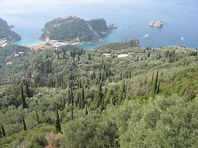 Korfu - Paleokastritsa