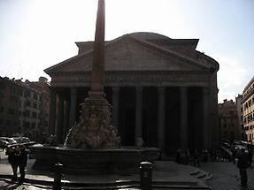 Pantheon mit Obelisk