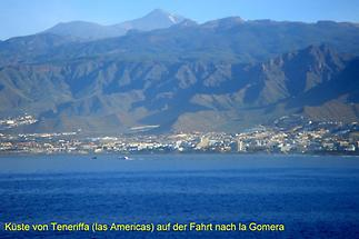 Fahrt nach Gomera