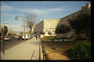 Jerusalem Alte Stadtmauer(1990)
