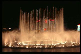 Las Vegas Nächtliches Schauspiel