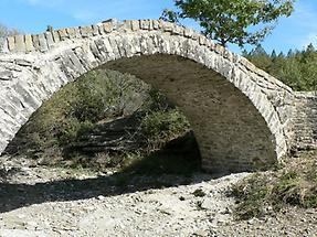 Ag Minas-Brücke bei Dhilofo