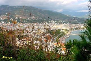Alanya, Blick von der Festung