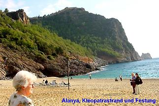 Alanya, Strand und Festung