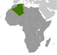 Algeria in Africa