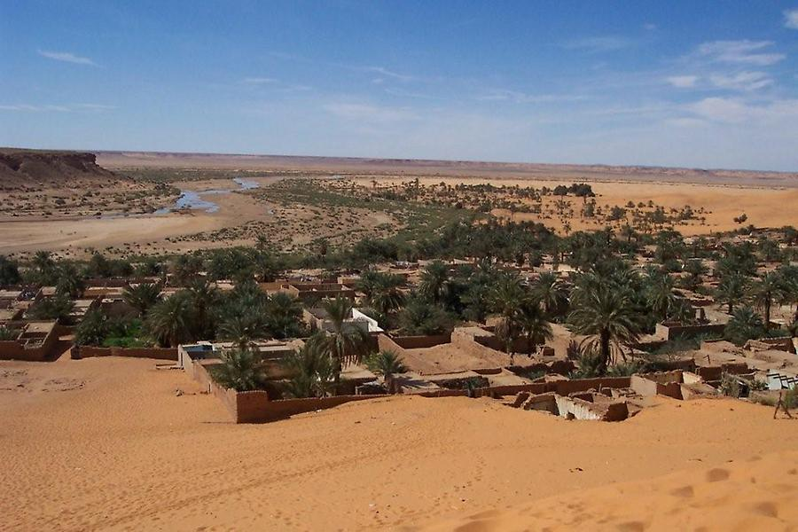 Oasis Ksar of Beni Abbes (1)
