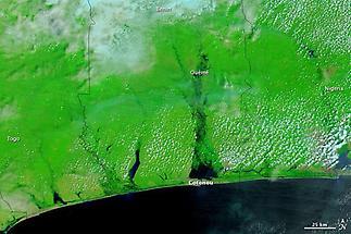 Coast of Benin, October 22, 2010