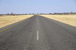 On the way to Ghanzi