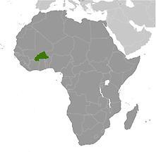 Burkina Faso in Africa