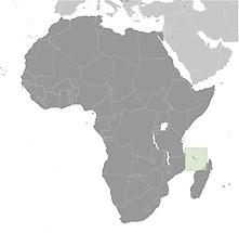 Comoros in Africa