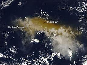 Karthala Volcano, Eruption
