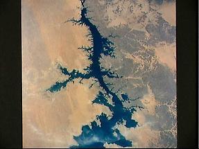 Nile River in Lake Nasser