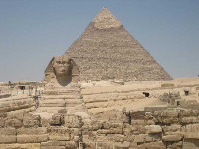 Sphinx, Pyramid of Khafre