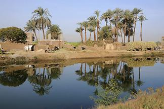Branch of the Nile near Dendera