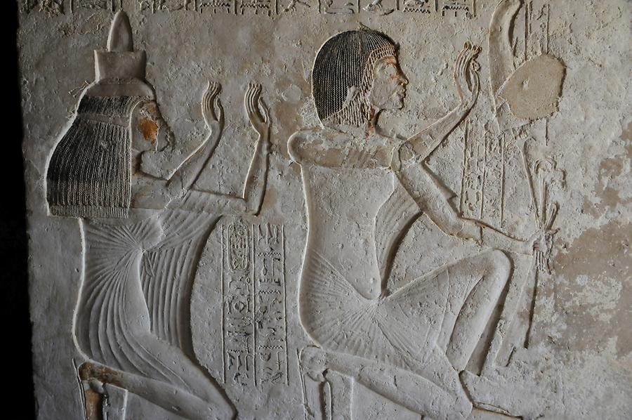 Tomb Reliefs, Amarna