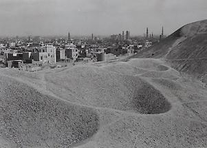 Blick über Wüstendünen