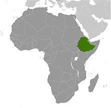 Ethiopia in Africa