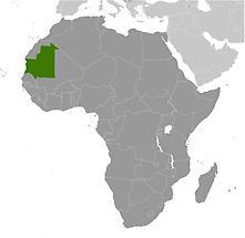 Mauritania in Africa
