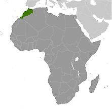 Morocco in Africa