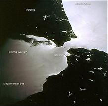 Gibraltar, Sunset