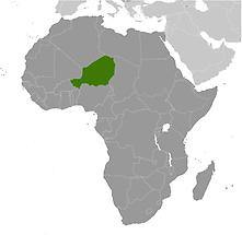 Niger in Africa