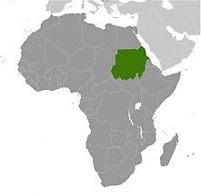 Sudan in Africa