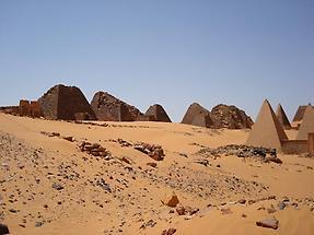 Pyramids, Meroe