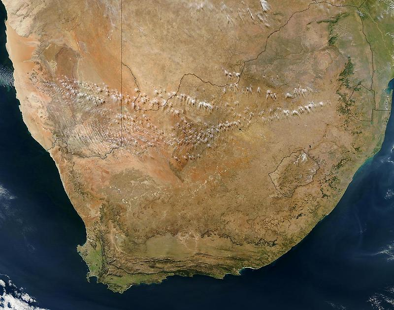 Satellite View, South Africa