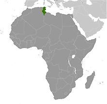 Tunisia in Africa