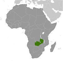 Zambia in Africa