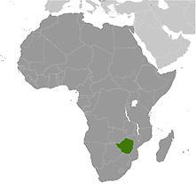 Zimbabwe in Africa