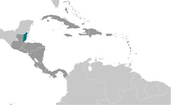 Belize in Central America and Caribbean