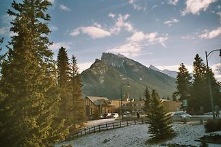 Rundle from Banff
