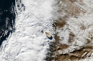 Volcanic ash cloud