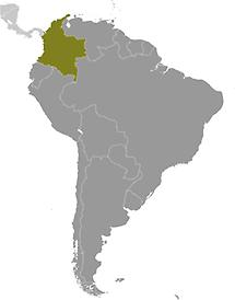 Colombia in South America