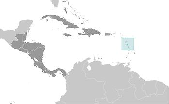 Dominica in Central America and Caribbean