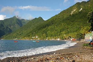 South side of Dominica